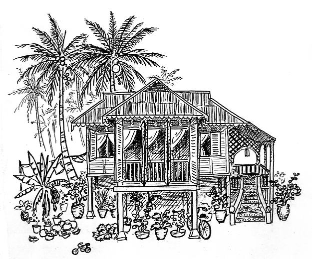 New page 2 for Beach house drawing